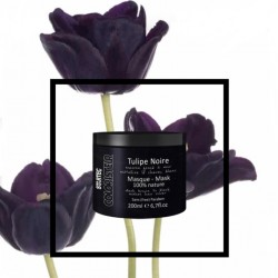 Masque colorant noir intense (Tulipe noire) Coloristeur - 150ml