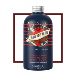 Shampoing tonique + rasage Blue Navy - 250ml