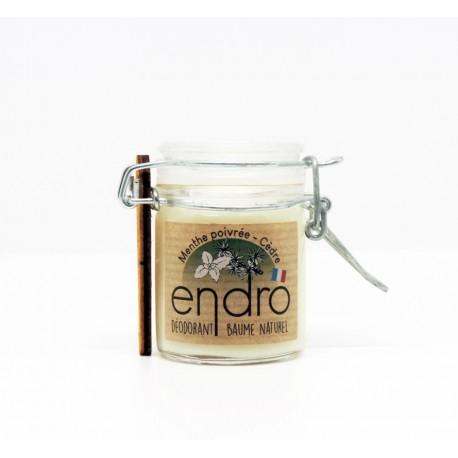 Déodorant baume menthe poivrée & cèdre naturel et bio - 50ml