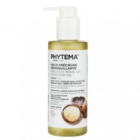 Huile précieuse démaquillante Bio Skincare - 200ml - Phytema Cosmetiques