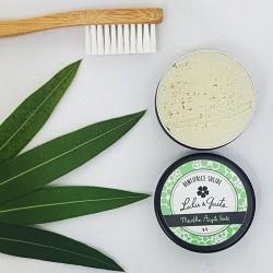 Dentifrice solide  fraîcheur menthe verte et argile verte 100% naturel et bio - 20g - Lulu & Guite