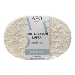 Porte-savon en luffa 100% naturel - APO France