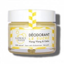 """Baume déodorant 100% naturel et bio """"Le Sucré"""" - 50g - Clémence et Vivien"""