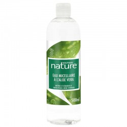 Eau micellaire à l'Aloe Vera Bio - 500ml - Boutique nature