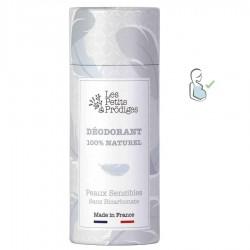 Déodorant peaux sensibles 100% naturel - 65g - Les Petits Prödiges