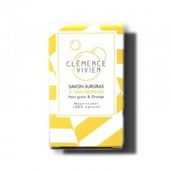 """Savon à froid surgras 100% naturel """"Le Saint-Bernard"""" - 100g - Clémence et Vivien"""