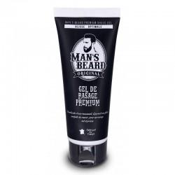 Gel de rasage Premium non moussant - 100ml - Man's Beard