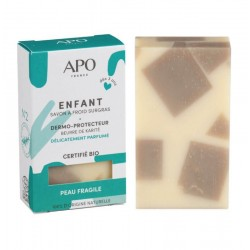Savon dermo-protecteur Enfant peau fragile Bio - 100g - APO France