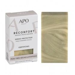 Savon dermo-protecteur Réconfort peau très sèche & atopique Bio - 100g - APO France