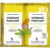 Gommage purifiant peaux sensibles Bio - 2 sachets de 4g