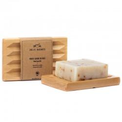 Porte savon en bois naturel Jolis Baumes