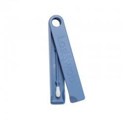 Coton-tige lavable et réutilisable en silicone écologique - Bleu - LastSwab