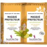 Masque protecteur nourrissant Bio - 2 sachets de 8g