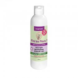 Shampoing anti-poux et lentes 100% d'origine naturelle - 200ml