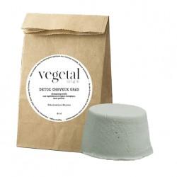 Shampoing solide détox cheveux gras Bio Végétal Origin - 45g