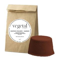 Shampoing solide cheveux colorés marron Bio Végétal Origin - 35g - Startec