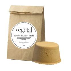 Shampoing solide cheveux colorés blond Bio Végétal Origin - 35g - Startec
