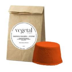 Shampoing solide cheveux colorés cuivré Bio Végétal Origin - 35g - Startec