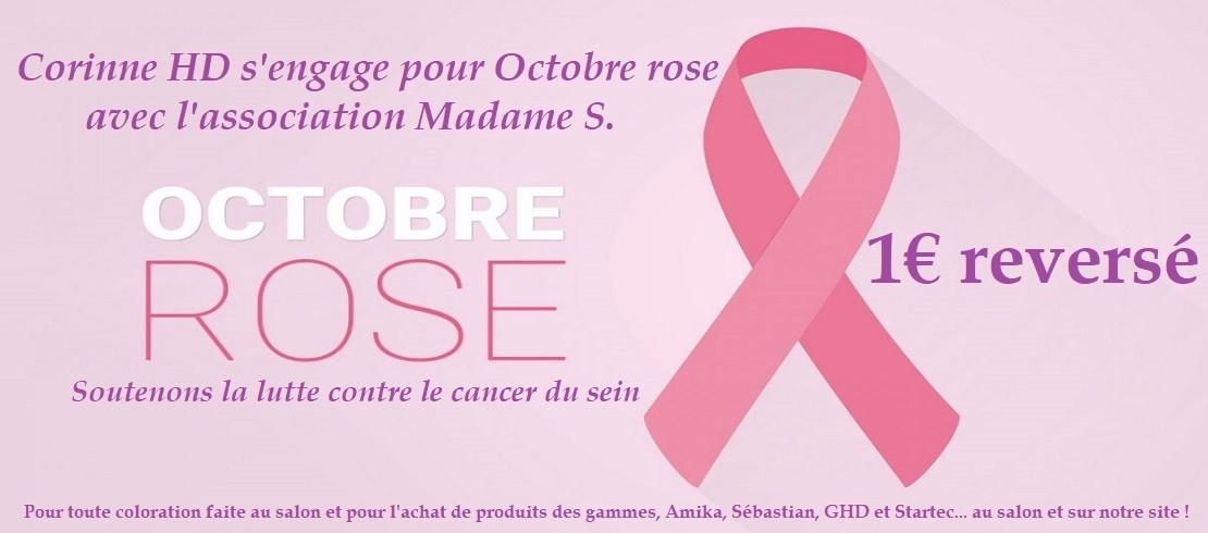 CHD soutient la lutte contre le cancer du sein